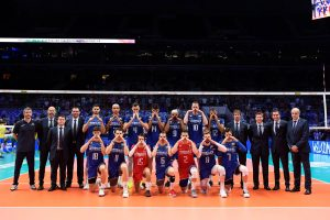 L'équipe de France de Volley à Lille avec Yoan ambianceur