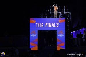 Yoan, ambianceur des Finales de la Volleyball Nations League