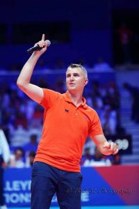 Yoan, ambianceur de la VolleyBall Nations League