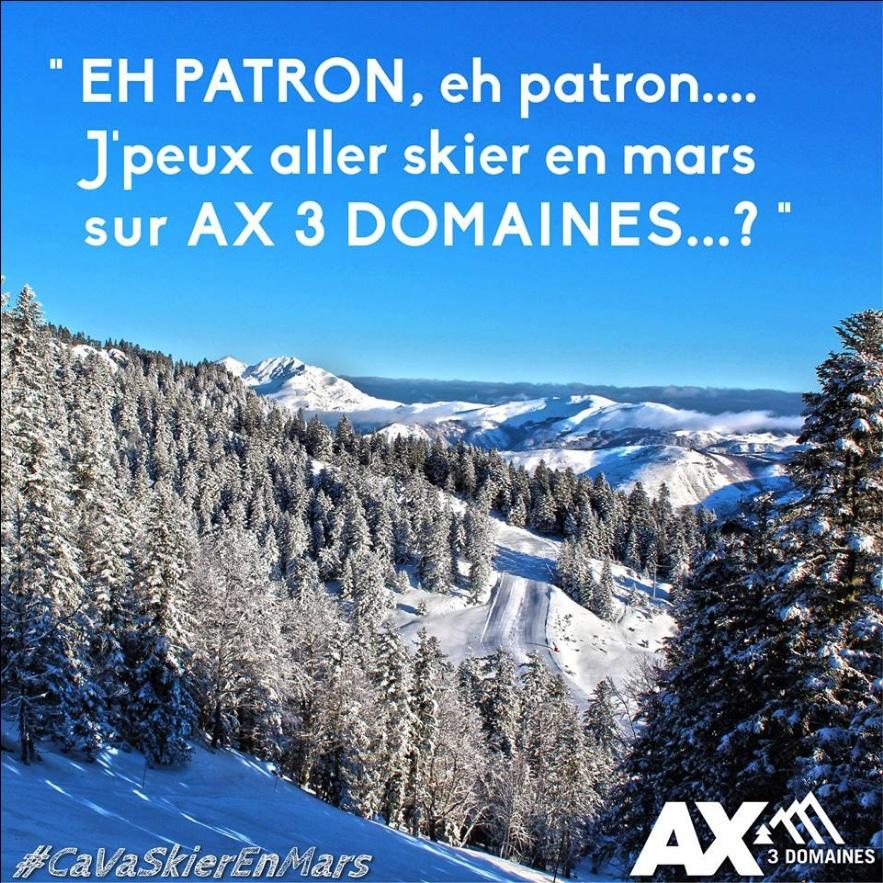 Yoan, community manager d'une station de ski en Ariège