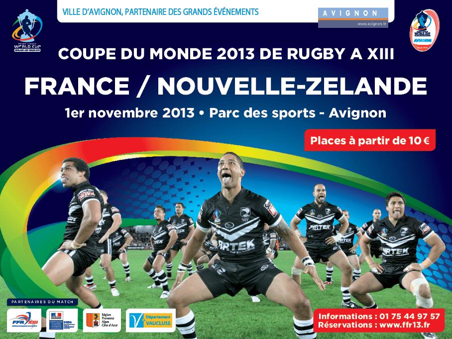 Yoan, animateur de la Fédération Française de Rugby à 13 et d'un match de rugby de la Coupe du Monde