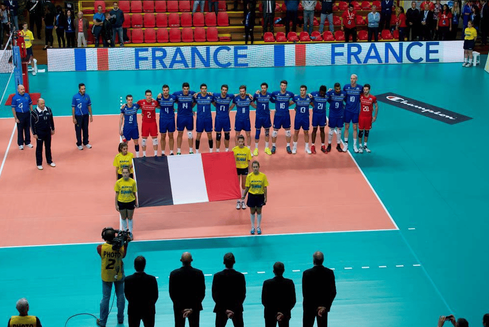 Yoan, speaker de l'Equipe de France de Volley
