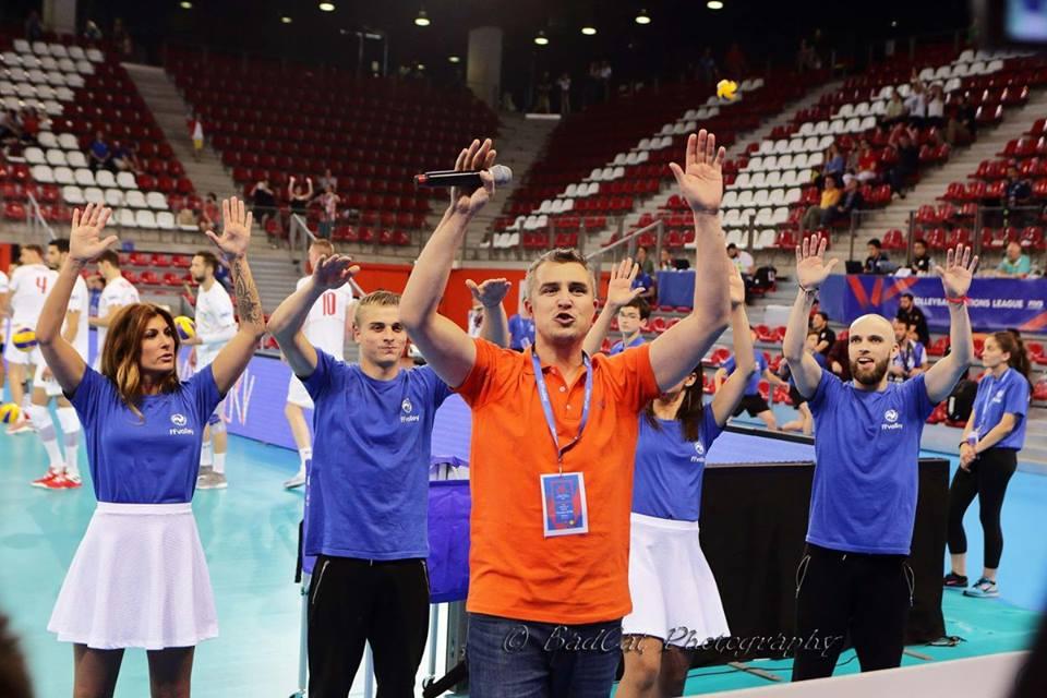 Yoan, ambianceur de l'Equipe de France de Volley