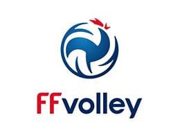 Logo de la Fédération Française de Volley dont Yoan est le speaker officiel