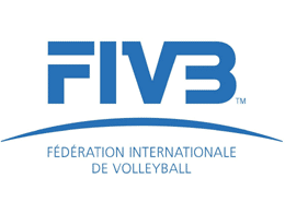 Logo de la Fédération Internationale de Volleyball dont Yoan est un des speakers