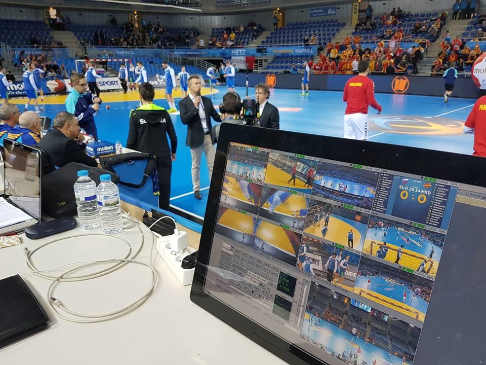 Yoan, speaker des Championnats du Monde de Handball