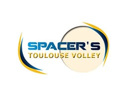 Logo des Spacer's Volley Toulouse dont Yoan est le speaker et ambianceur officiel