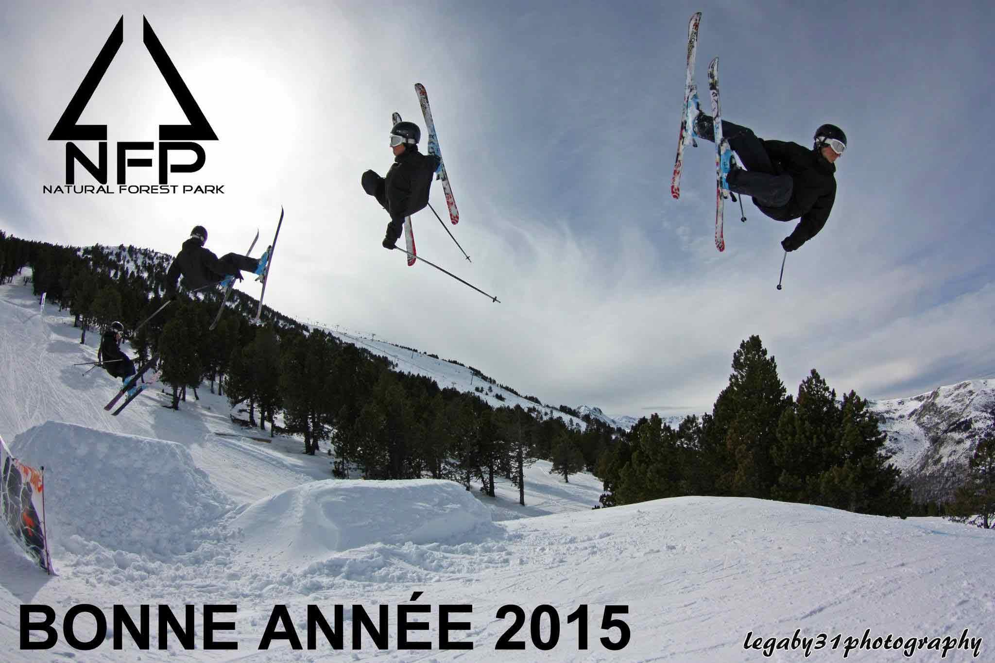 Visuel de Community Manager pour le Snow Park d'Ax 3 Domaines en Ariège