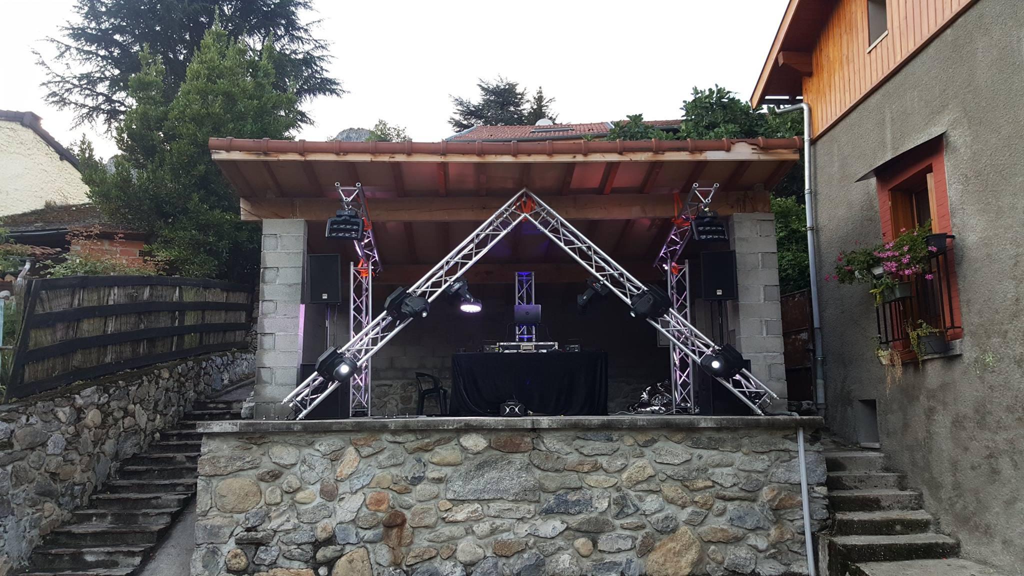 Fête de village pour Yoan, DJ animateur