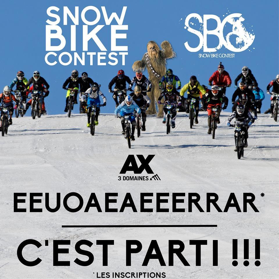 Visuel de Community Manager pour le Bike Park Ax 3 Domaines station de ski en Ariège
