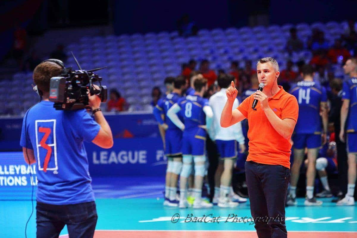 Yoan, ambianceur du volley en France et à l'international