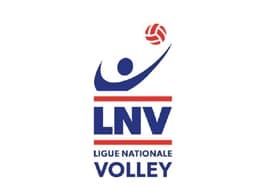 Logo de la Ligue Nationale de Volley dont Yoan est le speaker officiel