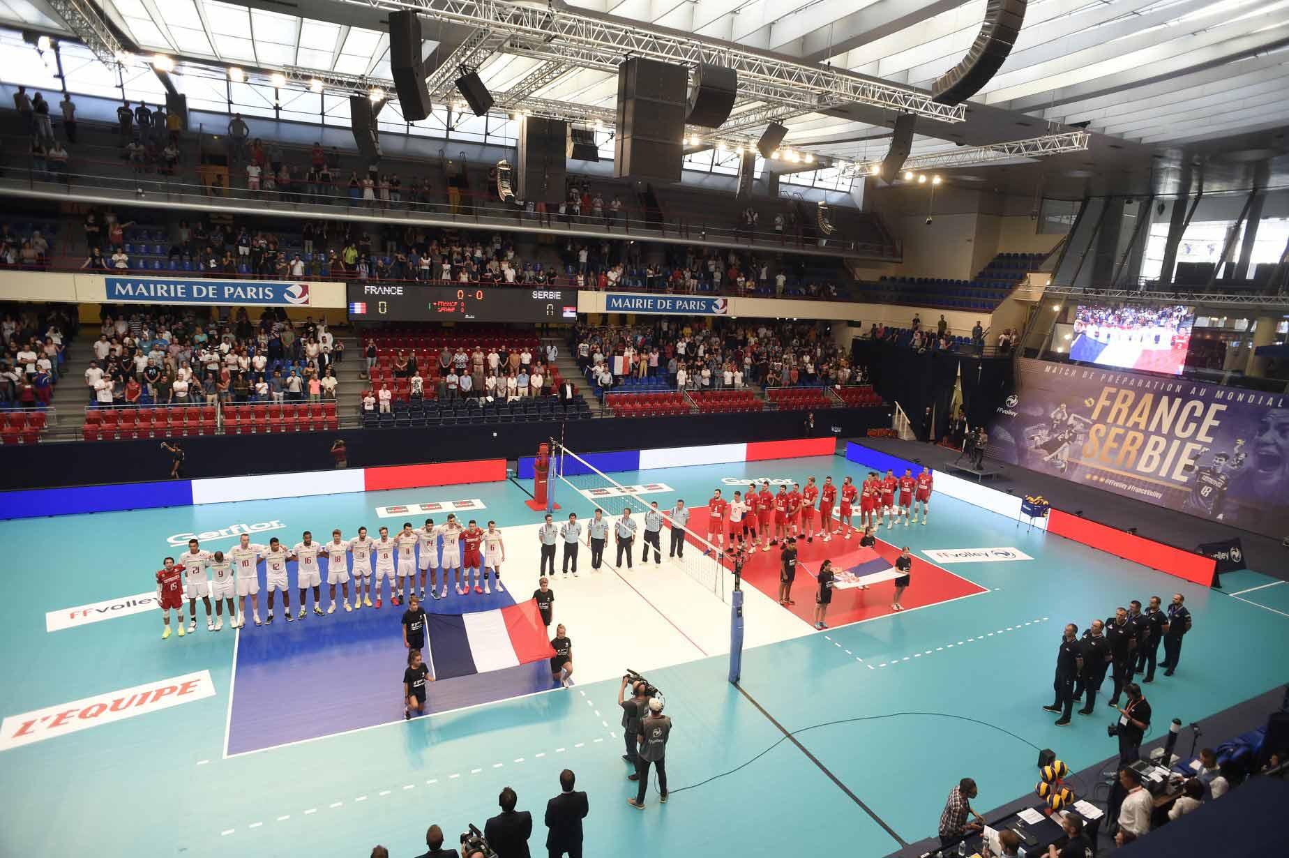 Yoan, ambianceur officiel de la Fédération Française de Volley