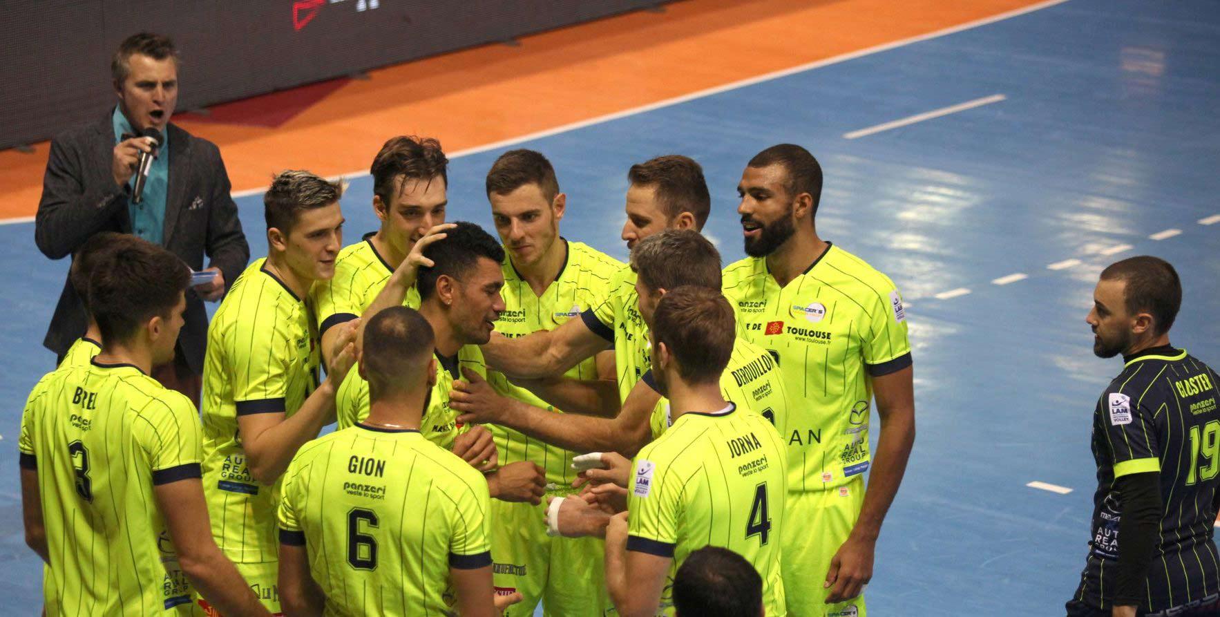 Yoan, ambianceur pour le volleyball à Toulouse