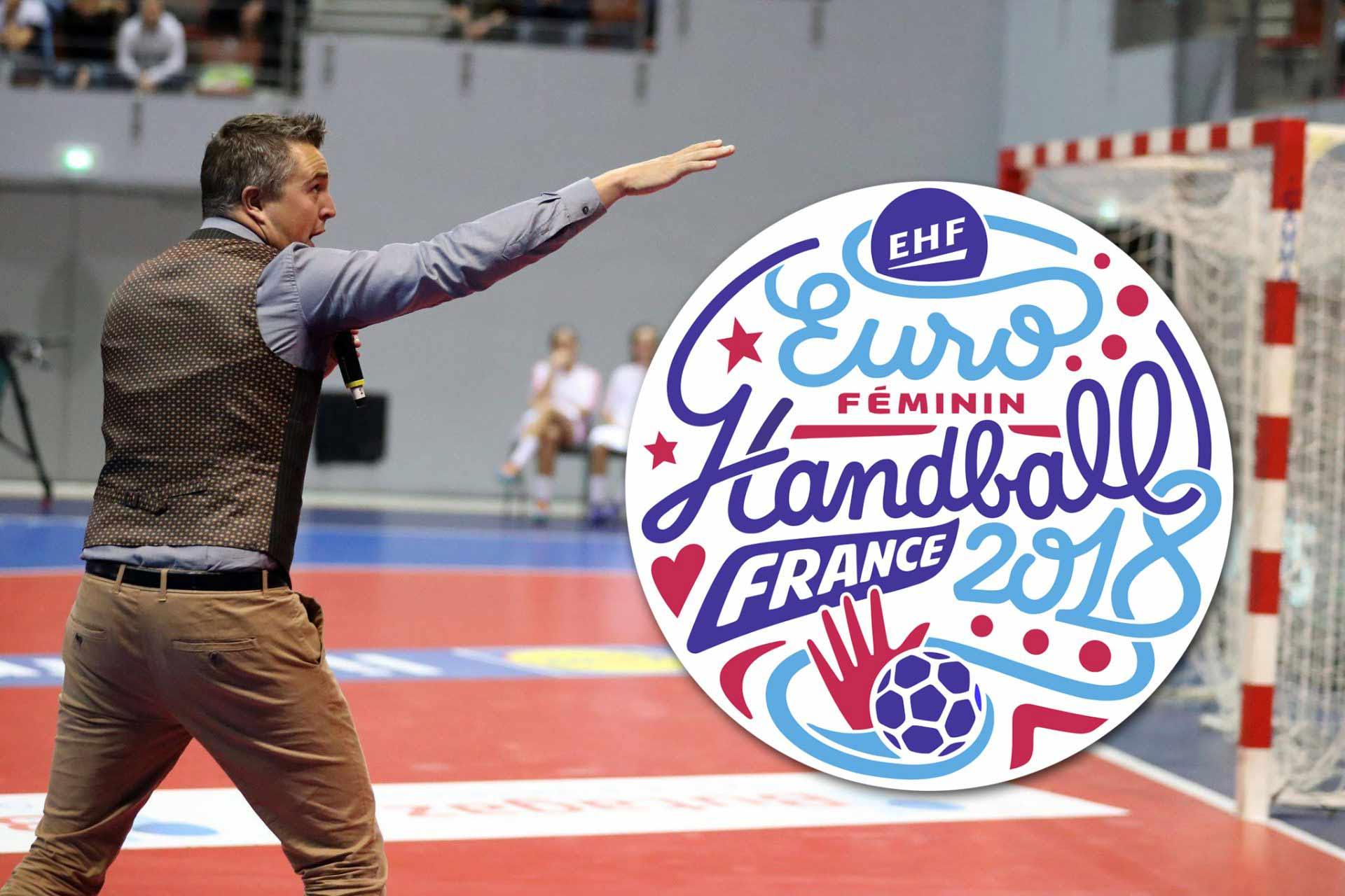 Yoan, speaker de l'Euro Handball 2018