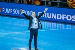speaker animateur micro Championnats du Monde Handball