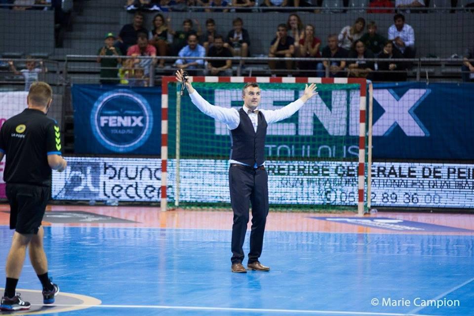 Yoan, Ambianceur, DJ, au Fenix TOulouse Handball