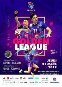Match de la Golden League de Handball avec l'Equipe de France pour Yoan, ambianceur