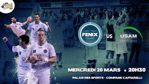 Match du Fenix Toulouse Handball pour Yoan, speaker