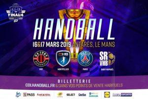 Coupe de la Ligue Nationale de Handball pour Yoan, speaker