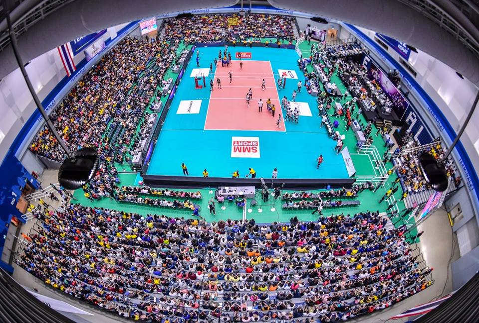 Yoan ambianceur pour la Thaïlande en volley