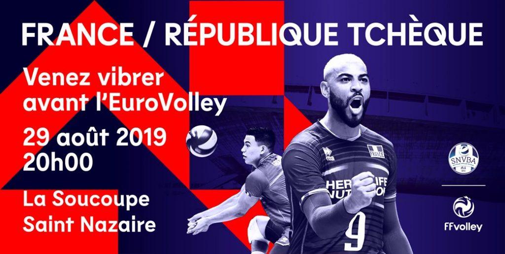 Match amical entre la France et la République Tchèque