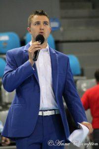 Yoan, speaker du Fenix Toulouse Handball