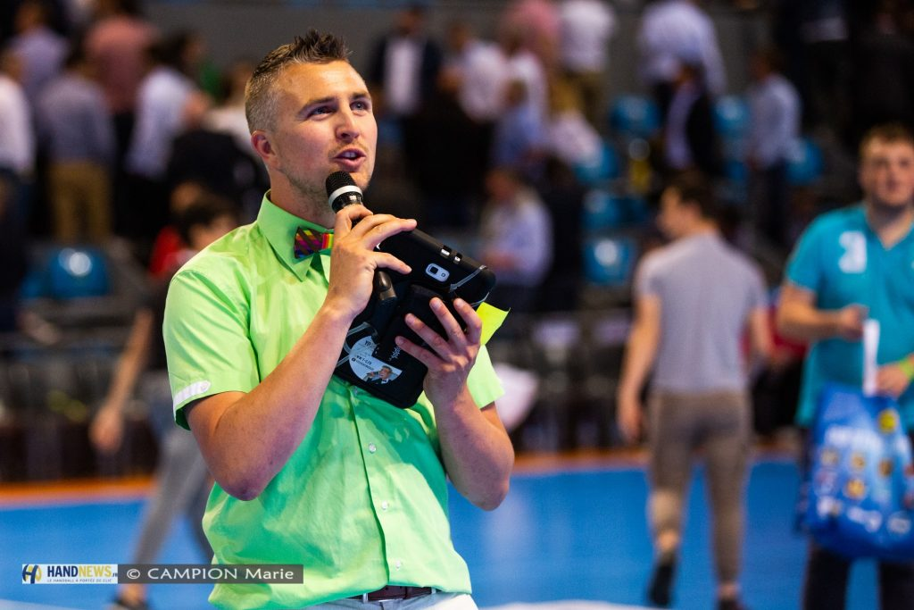 Speaker résident pour le Fenix Toulouse Handball