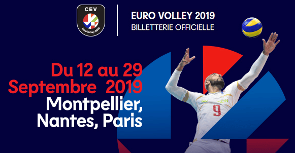 billetterie eurovolley 2019