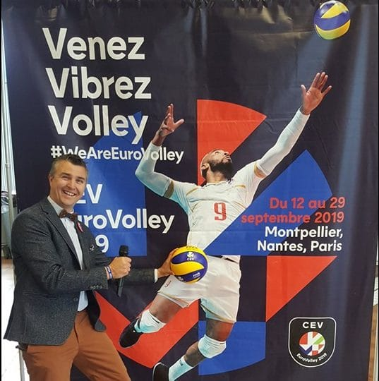 Animateur micro eurovolley