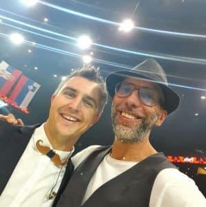 Kris et Yoan à l'Accor Hotel Arena de Paris