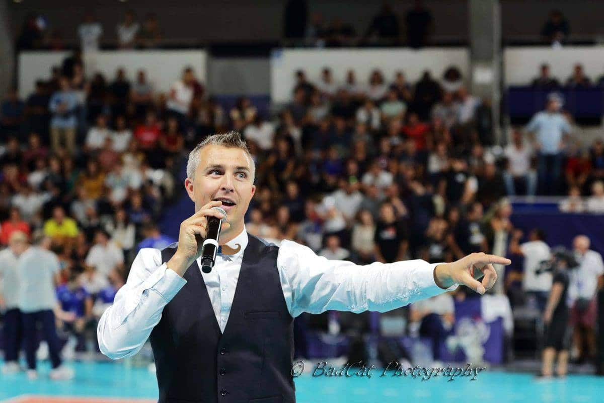 Yoan, speaker des SPacer's Volley Toulouse