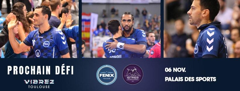 Yoan sera le speaker animateur micro et DJ de la rencontre entre le Fenix Toulouse Handball et Istres