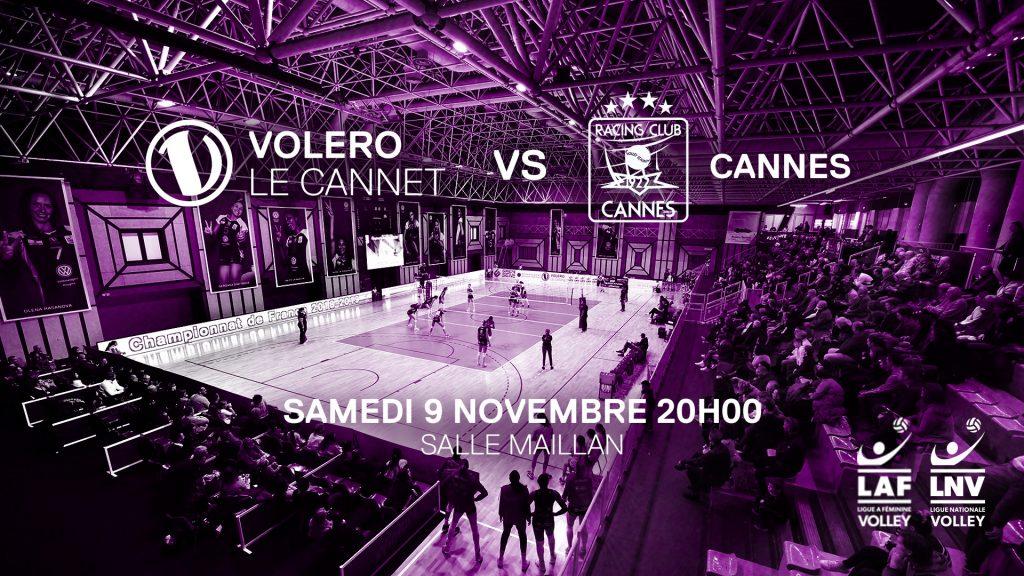 Yoan sera au micro de la rencontre entre Le Cannet Volero et le RC Cannes