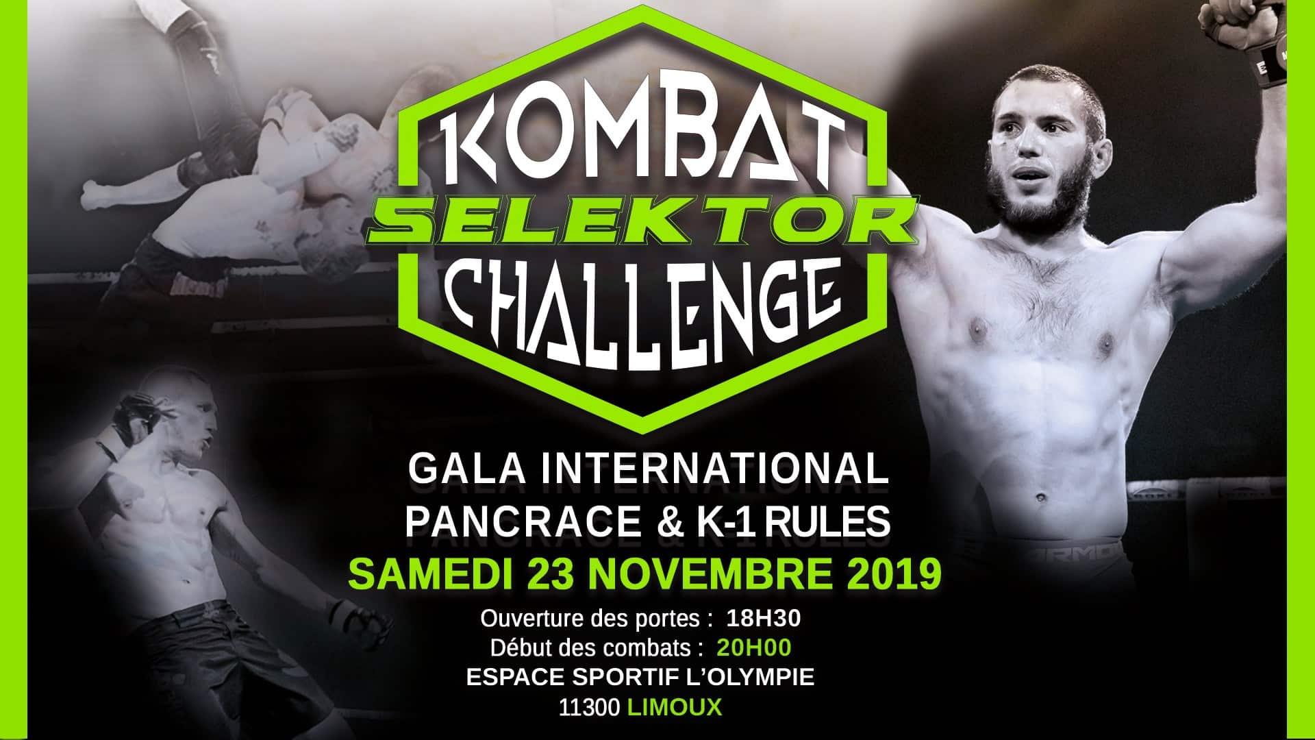 Yoan speaker du gala de pancrace MMA des frères Réa