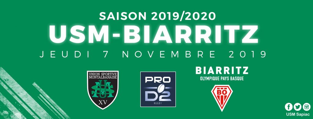 Yoan speaker pour la rencontre de Prod2 de rugby entre Montauban et Biarritz