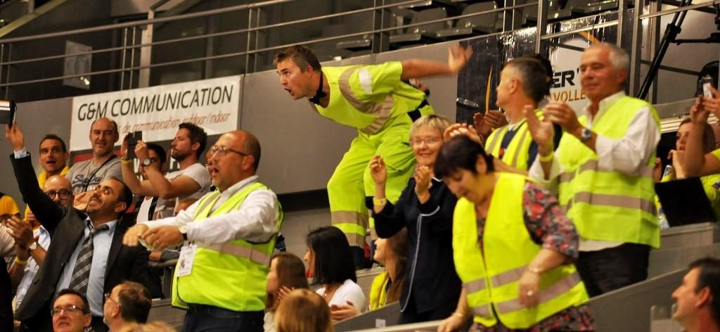 Yoan, speaker pour les Spacer's Volley Toulouse