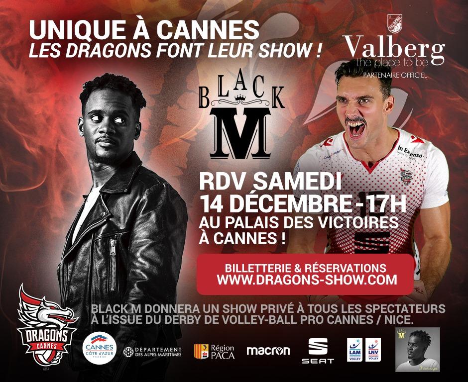 Yoan, speaker des soirées Dragons Show à Cannes Volley