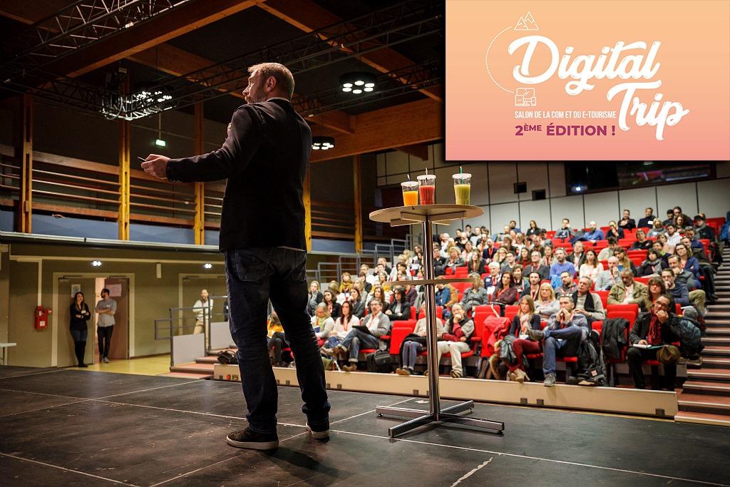 Yoan Maître de Cérémonie pour la conférence du Digital Trip 09