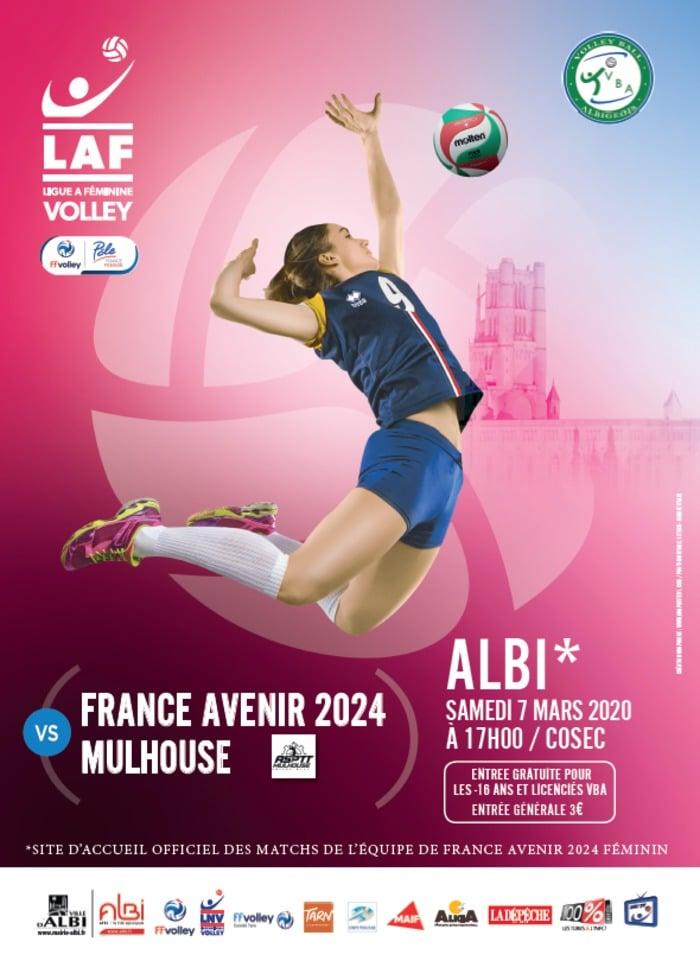 Yoan, ambianceur pour France Avenir 2024 en volley