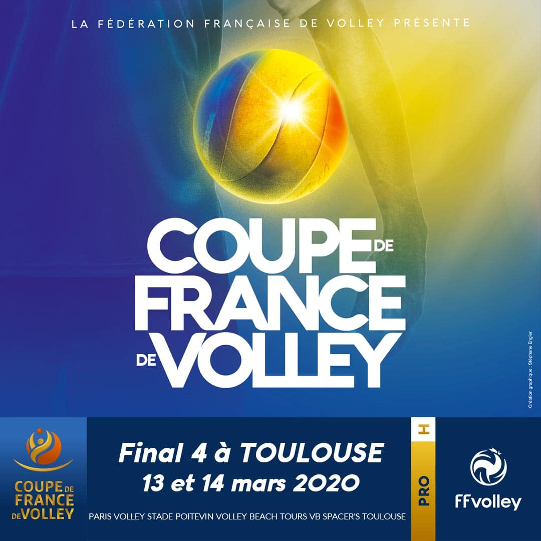 Yoan, Community Manager pour les Finales de Coupe de France de volley