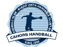 Logo du Cahors Handball dont Yoan est speaker