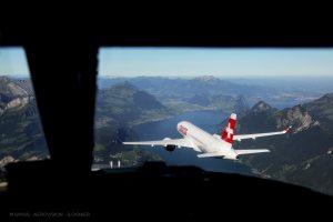 Air Swiss vu par Sébastien Ognier