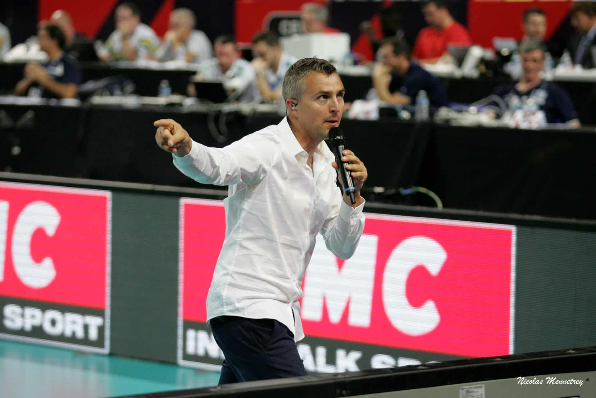 Yoan ambianceur speaker et Maître de Cérémonie pour événement sportif