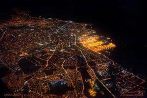 Casablanca vue de nuit par Sébastien Ognier