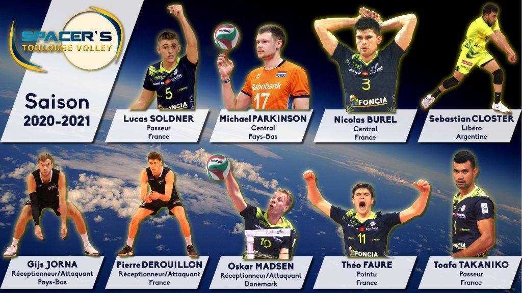 Community Management pour les SPacer's Volley Toulouse