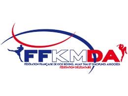 Logo de la FFKMDA pour la pancrace et le MMA