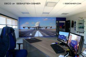 Le bureau du directeur de JEBS Express par Sébastien Ognier