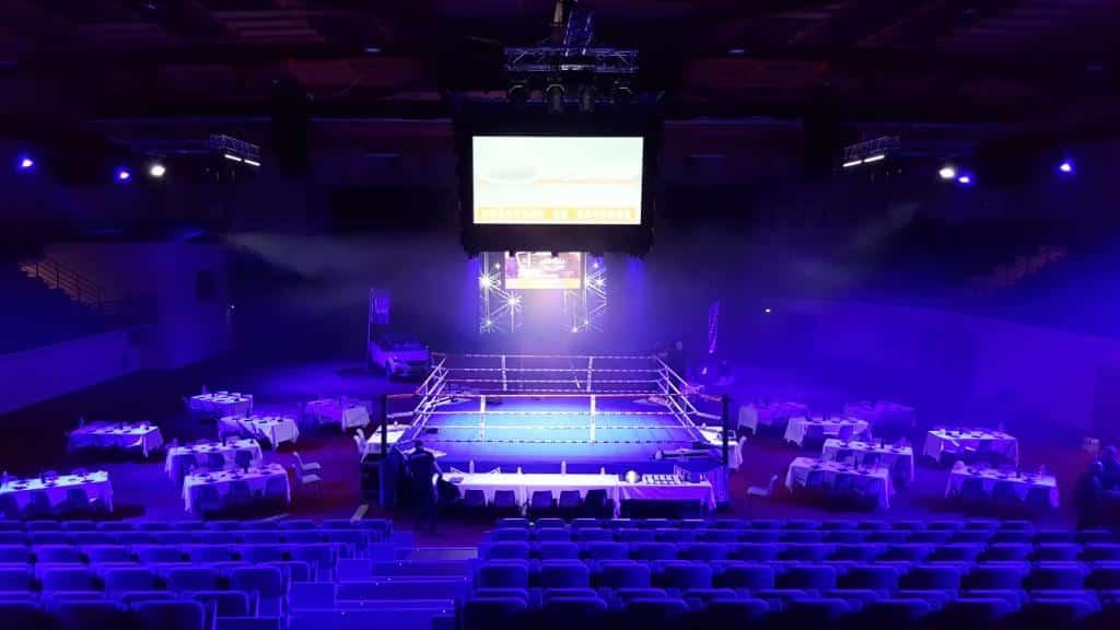 Maître de Cérémonie pour gala de pancrace MMA à Carcassonne
