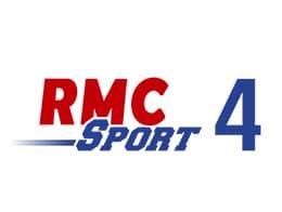 Logo de RMC Sport 4 la chaîne des Combats pancrace et MMA